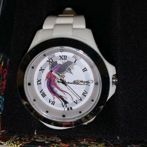 Ed Hardy unisex watch